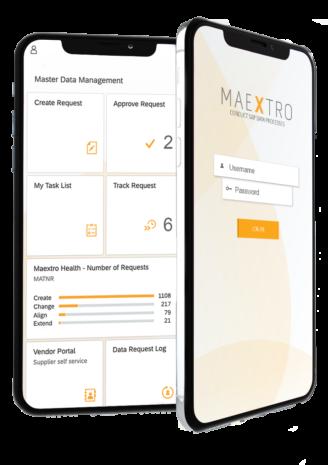 maextro master data mobile screenshot