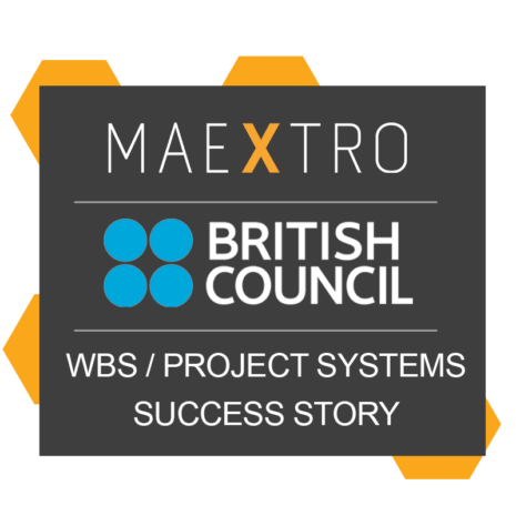 British Council – WBS with Maextro