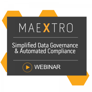 Simplified Data Governance & Automated Compliance with Maextro (Webinar 11th June 2020)