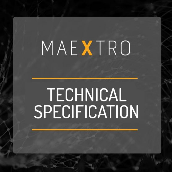 Maextro Technical Specification document